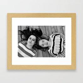 GREAT MINDS THINK ALIKE Framed Art Print