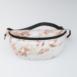 Rose Gold Marble - Perfect Pink Rose Gold Marble Fanny Pack