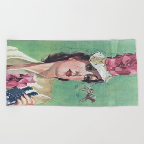 Once Upon A Time No. 1 Beach Towel