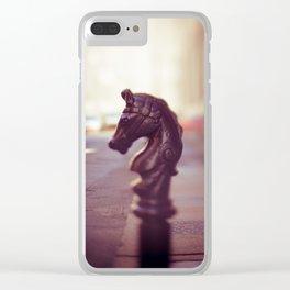 Nola Street Elegance Clear iPhone Case