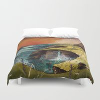 ireland Duvet Covers featuring Ireland by Taylor Rose