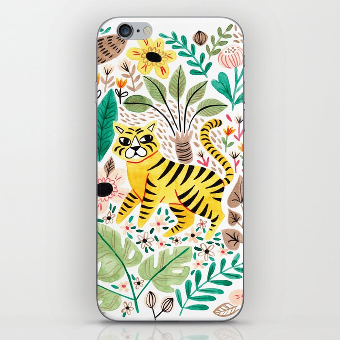 Tiger Jungle iPhone Skin
