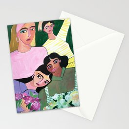 Millenial colors Stationery Cards