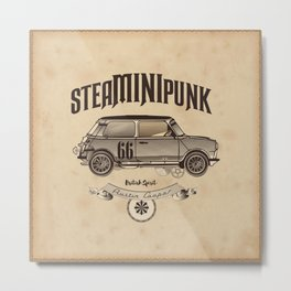 STEAM MINI PUNK Metal Print