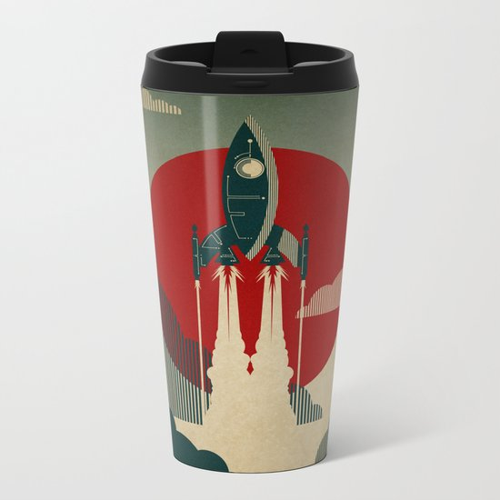 The Voyage Metal Travel Mug