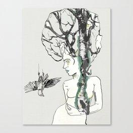 Growing Inside Canvas Print