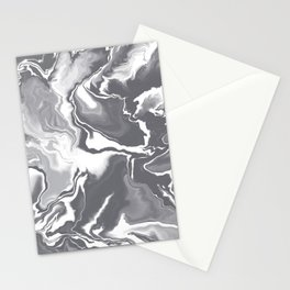 Gray tones series two Stationery Cards