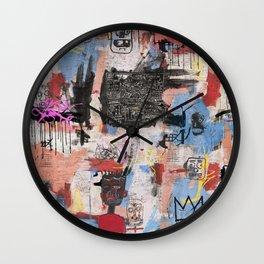 Play Play Play Wall Clock