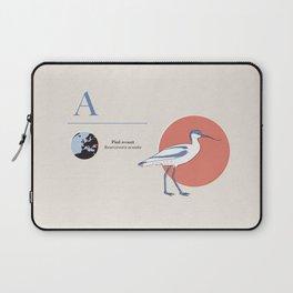 Pied avocet Laptop Sleeve
