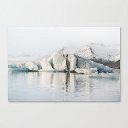 Tip Of The Iceberg X Canvas Print