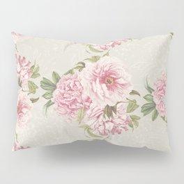 pink peony pattern Pillow Sham