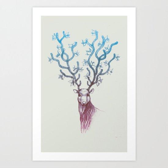 Reign Art Print