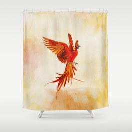 Phoenix Rising - #2 Shower Curtain