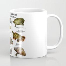 Freshwater Turtles of North America Coffee Mug