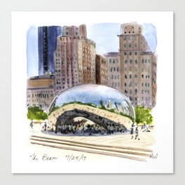 Cloud Gate - Chicago Canvas Print