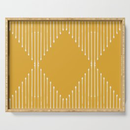Geo (Yellow) Serving Tray