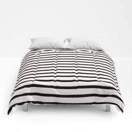 Preppy Breton Stripes Pattern Comforters