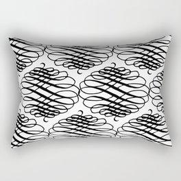 Curly Pattern 08 Rectangular Pillow