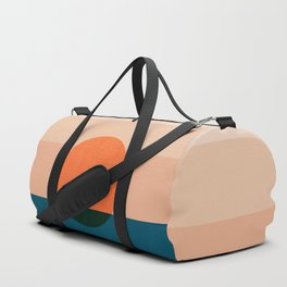 Abstraction_Sunset_Ocean Duffle Bag