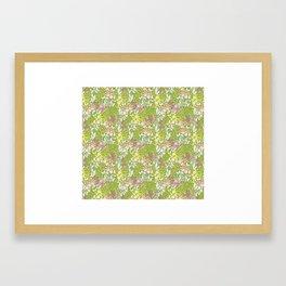 Bright Spring Floral Framed Art Print