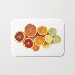 Citrus Rainbow Bath Mat