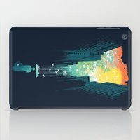 bird iPad Cases featuring I Want My Blue Sky by Picomodi