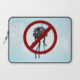 Drones are spooky? Laptop Sleeve