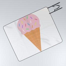 Ice Cream Picnic Blanket