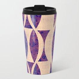 Seventies violet Pattern Travel Mug