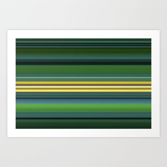 The Yellow Line Kunstdrucke