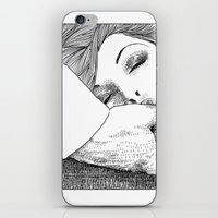 apollonia iPhone & iPod Skins featuring asc 28 - L'invitation by From Apollonia with Love