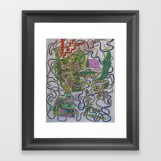 Kali Framed Art Print