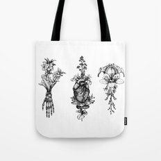 In Bloom - herbarium Tote Bag