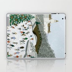 Ice skating pond Laptop & iPad Skin