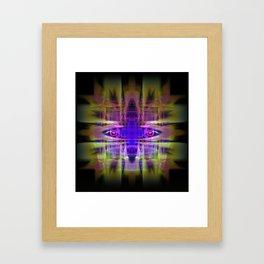 Electric Goddess Framed Art Print