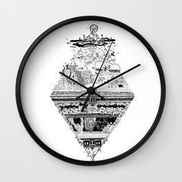 Olympe | Enfer Wall Clock
