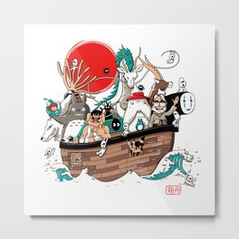 Ark's Miyazaki (version2018) Metal Print