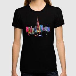 new york inked  T-shirt