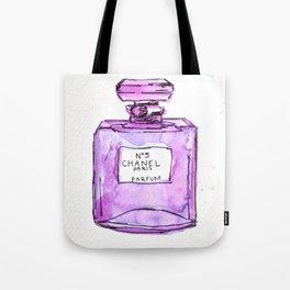 perfume purple Tote Bag