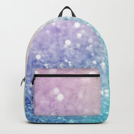 Pretty Colorful Glitter Bokeh Gradient Decorative Backpack