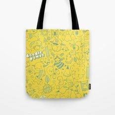 Super Mega Turbo Doodle Power Tote Bag