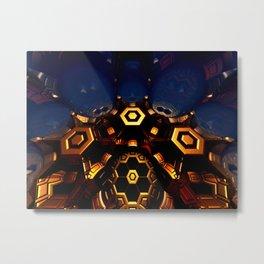 Queen's Chamber Metal Print