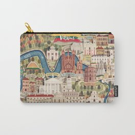 Vilnius, the capital city of Lithuania Carry-All Pouch