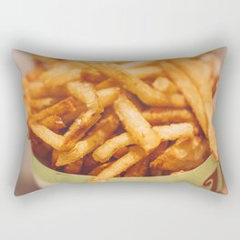 Fries in French Quarter, New Orleans Rectangular Pillow