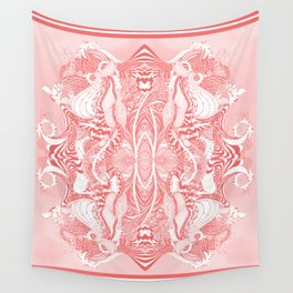 Garden 5 blush Wall Tapestry
