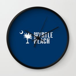 Myrtle Beach, South Carolina Wall Clock