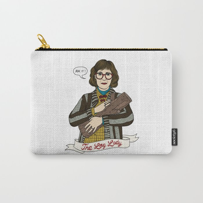 Twin Peaks (David Lynch) The Log Lady Carry-All Pouch