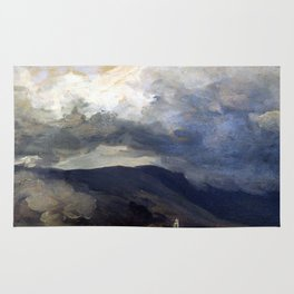 Josef Mánes Clouds in the Mountains Rug