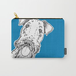 Peeking Dog Carry-All Pouch