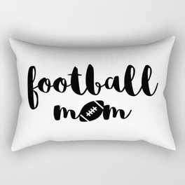 Football Mom Rectangular Pillow